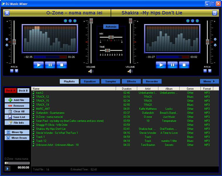 DJ Music Mixer 4.2 Screenshot